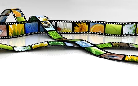 cintas: Cine Foto de archivo