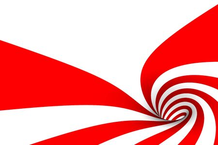 Inside a candy cane abstract photo