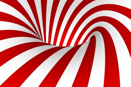 Red & White abstract background