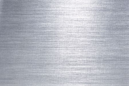Brushed metal plate Stock Photo - 3591414