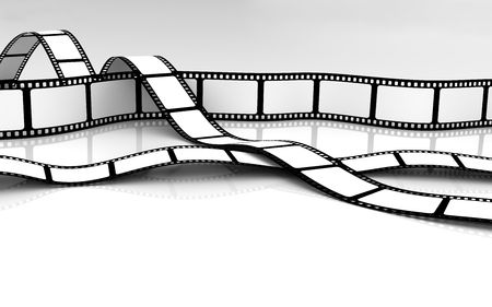 filmroll: Blank Film Stock Photo