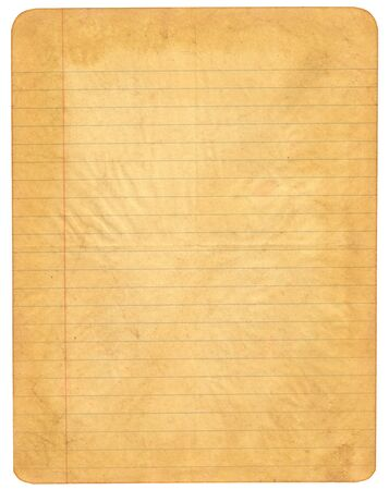beige: Old lined paper
