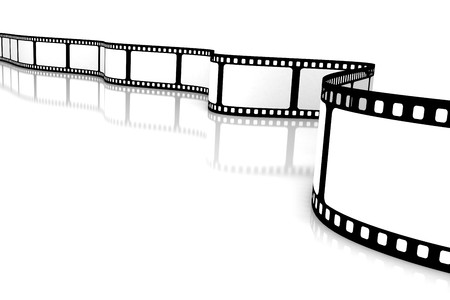 Blank film Stock Photo - 3977694