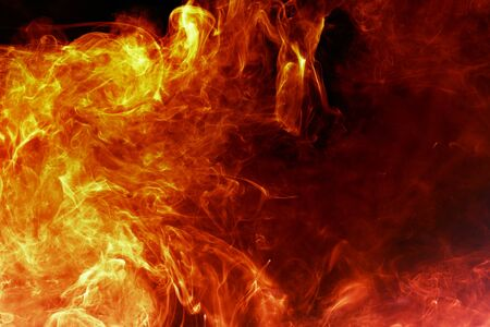 Magical fiery background Stock Photo - 3977716