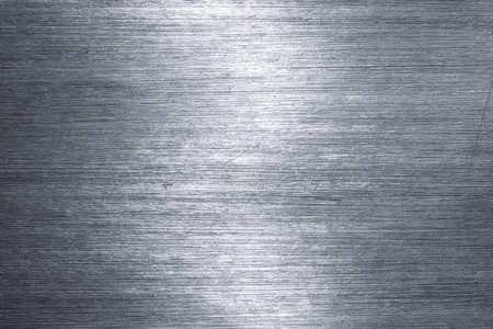 shiny metal background: Brushed metal plate