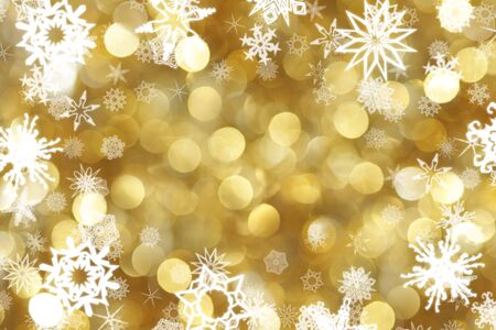 Snowflakes background Stock Photo - 3977862