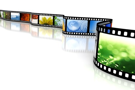 Film with images Stock Photo - 4252790