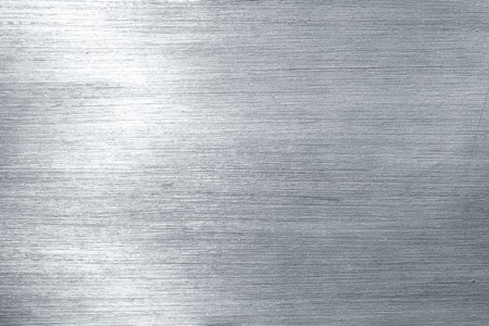 silver alloy: Brushed metal plate