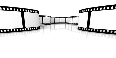 Blank film Stock Photo - 4460497
