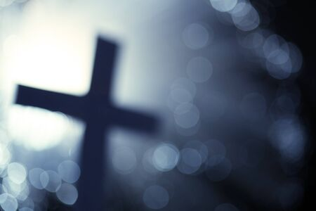 Abstract cross photo