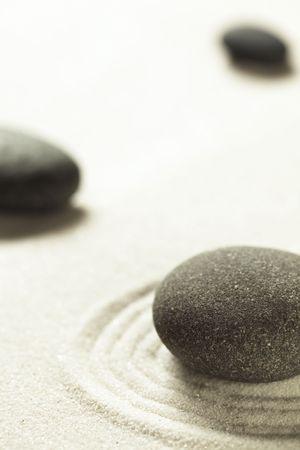 simple life: Zen stones
