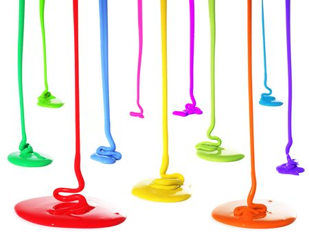 ooze: Paint pouring