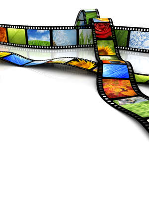 Film with images Stock Photo - 4791811