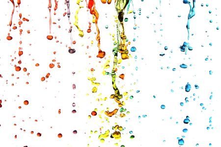 Colorful water photo