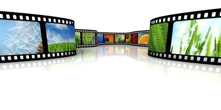 Film with images Stock Photo - 4952249