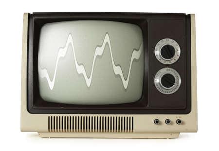 Old TV Stock Photo - 4952283