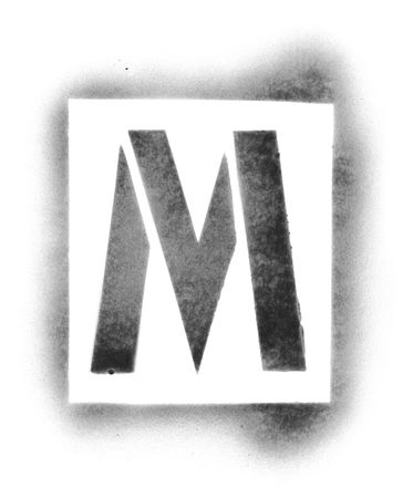 stencil letters