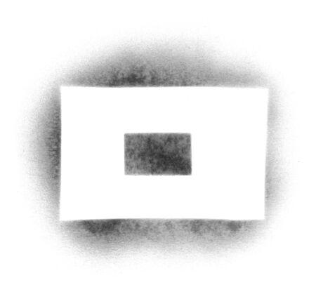 Stencil symbols in spray paint - dash photo