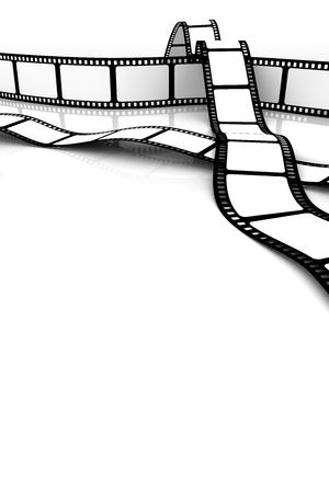 Blank film Stock Photo - 5082218