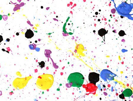 paint drip: Paint splatter