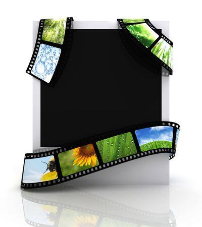 Film around a photograph Stock Photo - 5117280