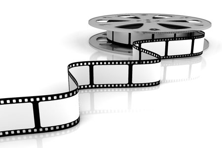 Blank film Stock Photo - 5299401