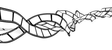 film industry: Tangled blank film