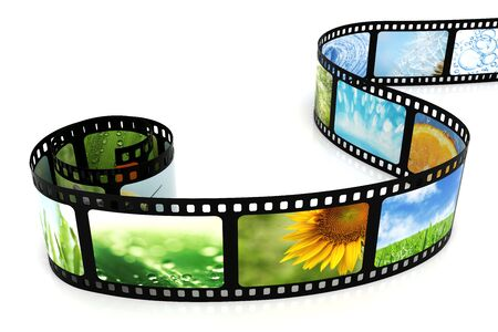 Film with images Stock Photo - 5369811