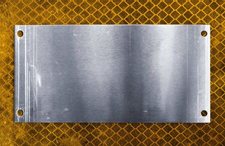 Metal plate Stock Photo - 5409799