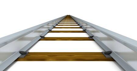 Train tracks Stock Photo - 5458383