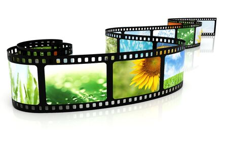 Film with images Stock Photo - 5458374