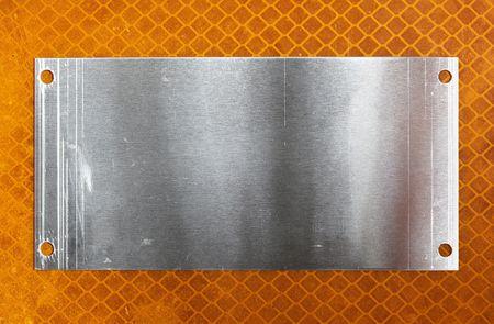 Metal plate Stock Photo - 5458390