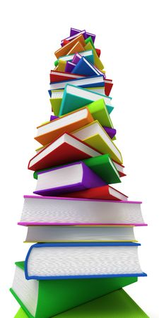 pile of books: Pile di libri