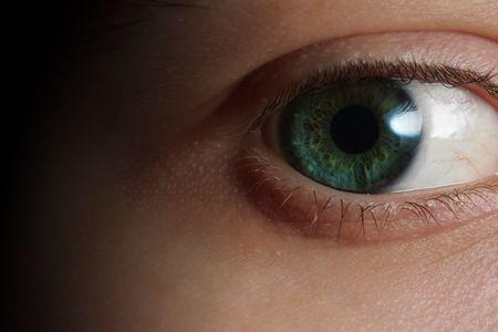 Detalle de un ojo Foto de archivo - 5897881