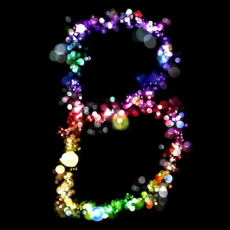 uppercase: Lights in the shape of letters
