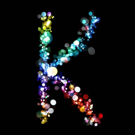 Lights in the shape of letters Stock Photo - 6238204
