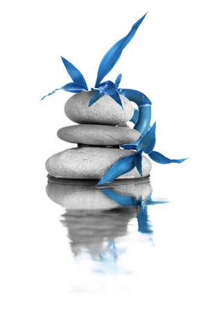 cyan: Zen stones