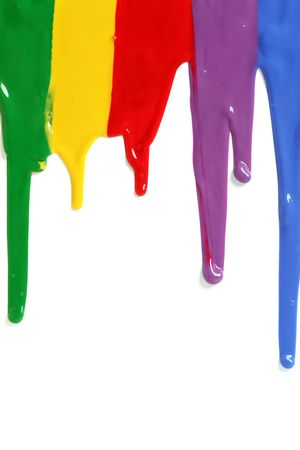 Paint dripping photo