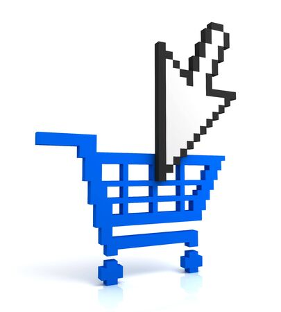 Add to cart button Stock Photo - 6977572