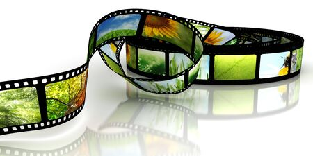 Film with images Stock Photo - 6977629