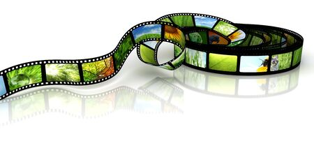 Film with images Stock Photo - 7118180