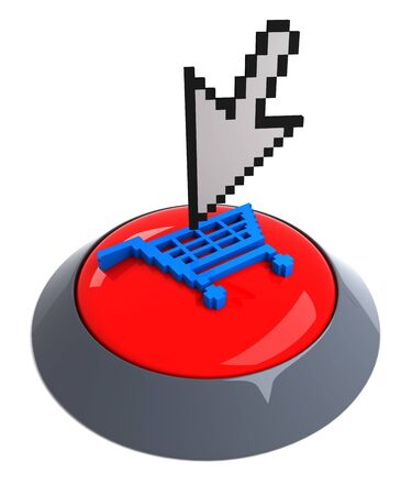 Add to cart button Stock Photo - 7229345