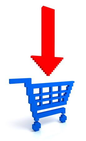 Add to cart button Stock Photo - 7275188