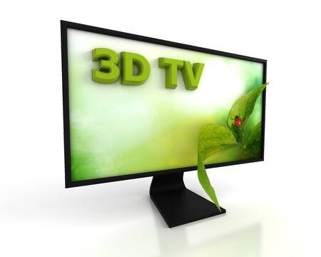 show plant: 3D TV