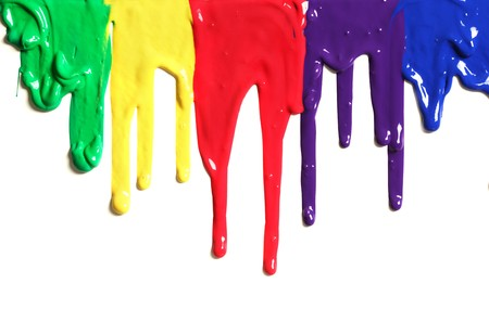 Paint dripping Stock Photo - 7329708