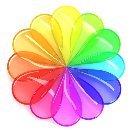Color wheel Stock Photo - 7380752