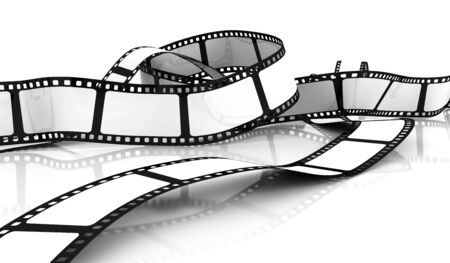 Blank Film Stock Photo - 7492634