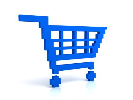 Add to cart button Stock Photo - 7492626