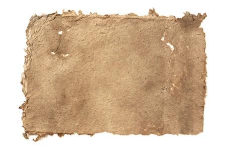 worn: Handmade paper