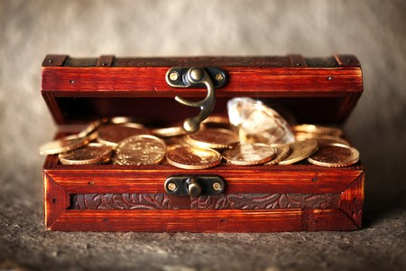Treasure chest Stock Photo - 7698468